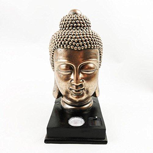 Kingfisher Buddha Kopf Solar Licht