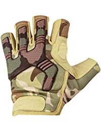 Highlander Men's Raptor Fingerless Gloves HMTC