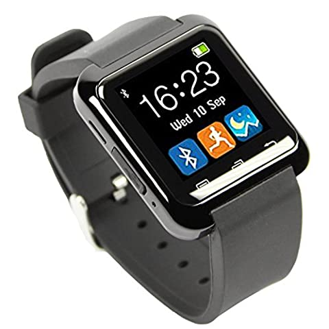 EasySMX Bluetooth 3.0 Multi-Language Smart Wrist Watch Smartwatch with Touch