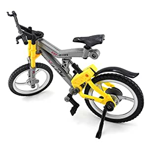 iNewcow Simulation Pretend Bicycle Children Educational DIY Bike Toys For Your Kids (Grey&Yellow 29*