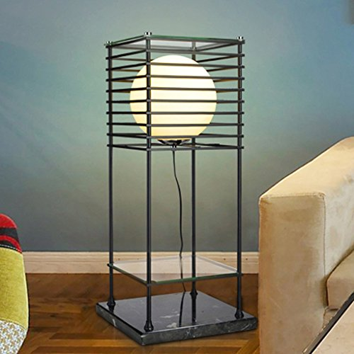 HOME Minimalista / moderno / American lampade / pavimento / Camera / lato del letto / soggiorno / Den / creativo / Retro / ufficio / Ferro / Rack ( colore : 1 )