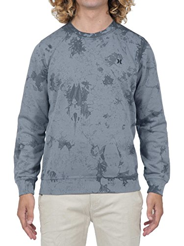 Hurley Beach Club Raw Crew, Man, Color: Obsidian Cool Grey