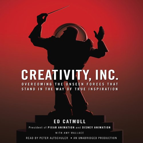 Buchseite und Rezensionen zu 'Creativity, Inc.: Overcoming the Unseen Forces That Stand in the Way of True Inspiration' von Ed Catmull