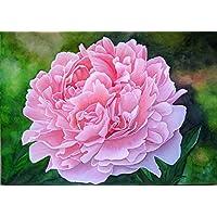 Blumenbild - Pfingstrose/Peonie, ein handgemaltes und signiertes Original-Bild