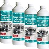 4 x HOTREGA Terrassenplatten-Reiniger 1000ml Flasche