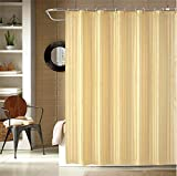 Ininsight Solutions Shower Curtain 7 feet with 12 Hooks Polyester - Multi (Width 180cm x Height 200cm) Amazon Deal