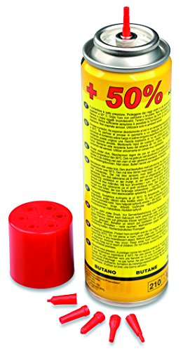 Kemper 10051 - Cartuccia gas per ricarica accendini e microsaldatori, 90 g