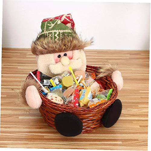 Case&Cover Feliz Navidad Caramelo Cesta almacenaje