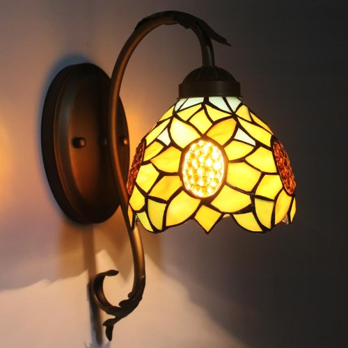 Uncle Sam LI - européenne miroir de lampe de mur lampe frontale lampe de chevet de la chambre chaude à fuselage large lampe de coin escaliers