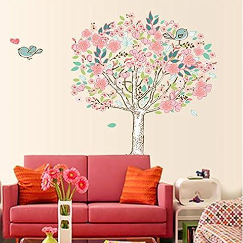 Home Decor Decorative Soggiorno Camera da letto divano wall moda portfolio creativo parete di ingresso decalcomanie amore flower