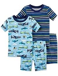 Carters - Set de Pijama de 4 Piezas para bebé niño ...
