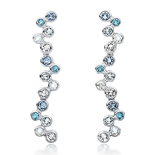 myjs-fidelity-rhodium-plated-bubbles-dangle-drop-earrings-with-blue-swarovski-crystals
