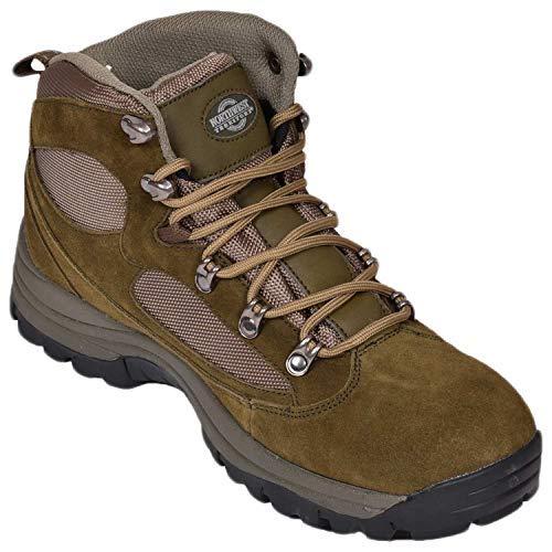Mens Suede Northwest Territory Steel Toe Capped Waterproof Safety Work Boots Khaki UK 8 Urban Waterproof Boot