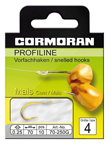 Cormoran PROFILINE Maishaken gold Gr.10 0,18mm