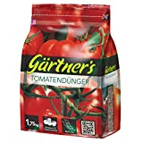 Gärtner´s Tomatendünger NPK 8+4+10 (+2), Zucchini Gurken Paprika Gewürzkräuter-Dünger, 1,75 kg