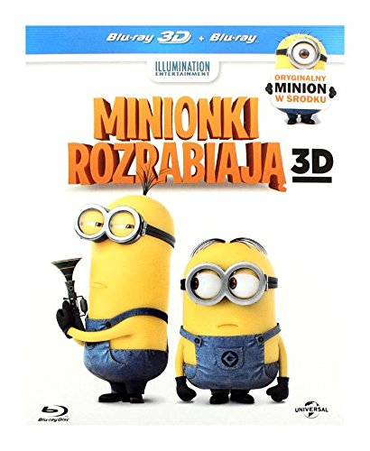 Despicable Me 2 [Blu-Ray]+[Blu-Ray 3D] (IMPORT) (Keine deutsche Version) (Stress-bälle 2)