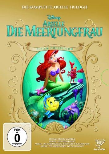 Arielle die Meerjungfrau - Trilogie [3 DVDs] (Die Kleine Meerjungfrau 3)