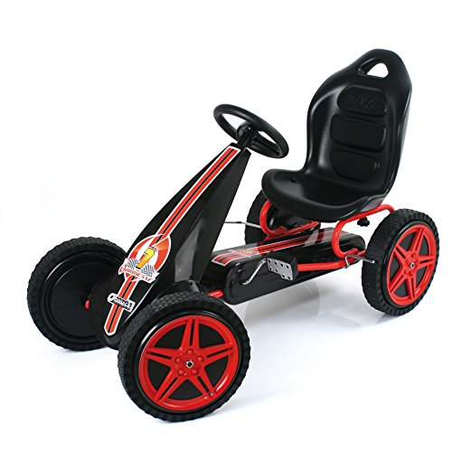 Hauck T90502 Hurricane, Go-Kart, red