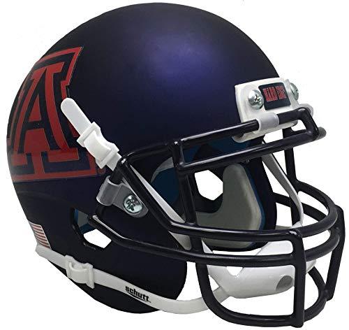 Schutt NCAA Arizona Wildcats Mini Authentic XP Fußballhelm, Unisex, NCAA Arizona Wildcats Mini Authentic XP Football Helmet, Alt. 8, Mini