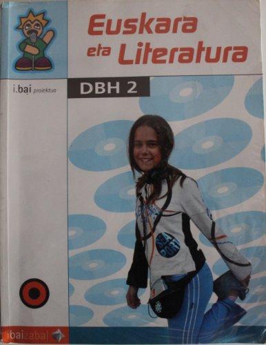Portada del libro Euskara eta Literatura -DBH 2-: I.Bai proiektua