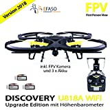 UDI U818A FPV Upgrade Drohne 2 MP WIFI FPV Kamera