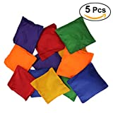 TOYMYTOY 5pcs Colorful Beanbags Nylon Playtime Bean Bags Review and Comparison