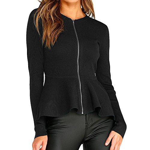 OSYARD Damen T-Shirt Oberseiten Pullover Sweatshirt, Frauen Langarm Hemd Kleidung Pulli Tunika Full...