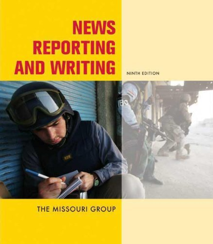 News Reporting and Writing by Missouri Group (2007-11-08)