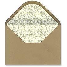 Sobres forrados invitaciones - KRAFT HOJAS2 229x162 mm. (verde claro)