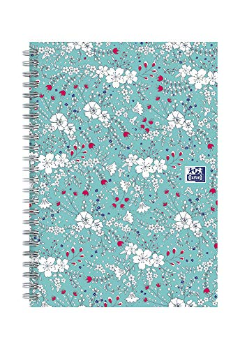 Oxford Floral A5 Hard Cover Wire...
