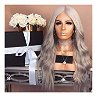 Symboat Long Synthetic Curly Wigs for Synthetic Wavy Hair