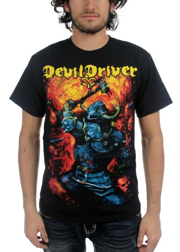 Devil Driver - Top - Uomo Nero  nero