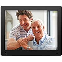 NIX Advance - 15 inch Digital Photo Frame, for SD, USB, Various Display Modes, for Pictures and Videos, Energy-saving Motion Sensor, Black - X15D