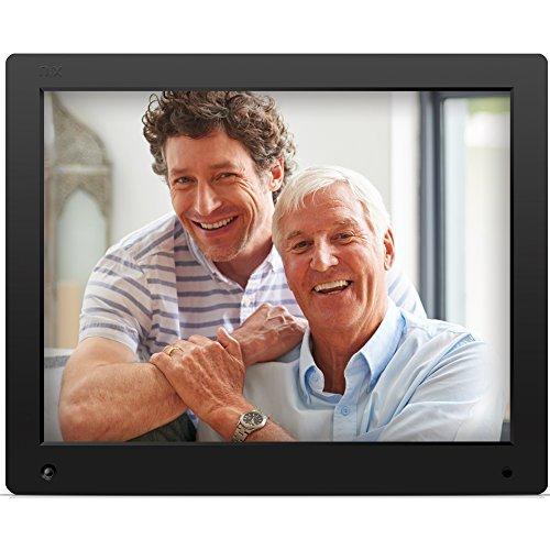 NIX Advance - Marco digital para fotos y vídeos, 15 pulgadas, pantalla de alta resolución, con sensor de movimiento, color negro, X15D