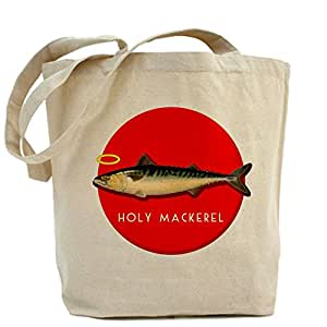 CafePress Holy Mackerel Tote Bag - Standard Multi-color [Kitchen & Home]