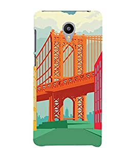 Ebby Designer Printed 3D High Quality Mobile Back Case Cover For Meizu M2 (Premium Matte Finishing Back Case )