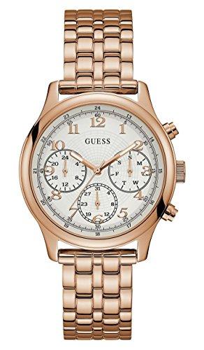 Guess Damen-Armbanduhr W1018L3 (Guess Rose Gold Watch)