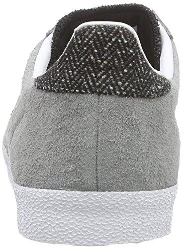 adidas Originals Gazelle Og Unisex-Erwachsene Sneakers Grau (Ch Solid Grey/Ch Solid Grey/Ftwr White)
