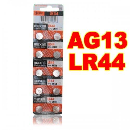 Preisvergleich Produktbild Big Bargain 1PCS NEU LR44 MAXELL A76 L1154 AG13 357 SR44 303 BATTERIE