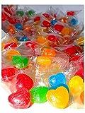 Herz Bonbons 300Stk 1kg bunt ideal als Gastgeschenk oder Candybar