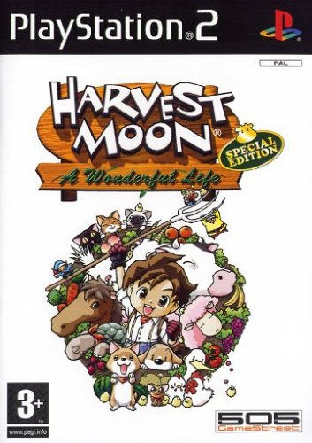 Harvest Moon  A Wonderful Life  Special Edition   PS2