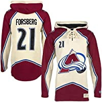 Old Time OTH Colorado Avalanche Peter Forsberg Lacer Jersey Hoodie NHL  Sweatshirt 16d5c83a9