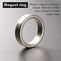 Bazaar Magnete coda torcia anello magnetico 20 * 16 * anello 5 millimetri