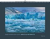 Farben der Erde: Arktis und Antarktis 2020: Kalender 2020 (KUNTH Wandkalender Black Edition)