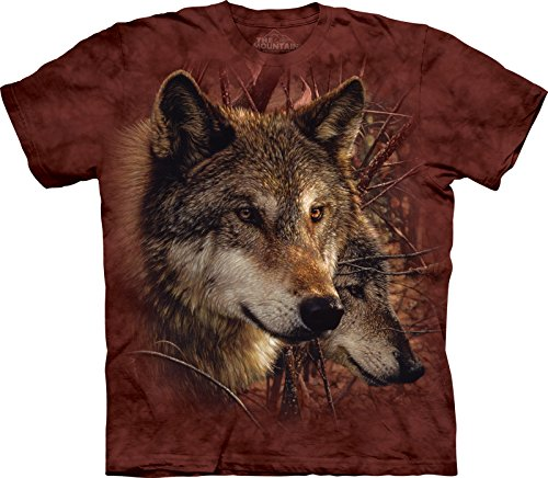 The Mountain Maglietta Forest Wolves Wolf Bambino Unisex M