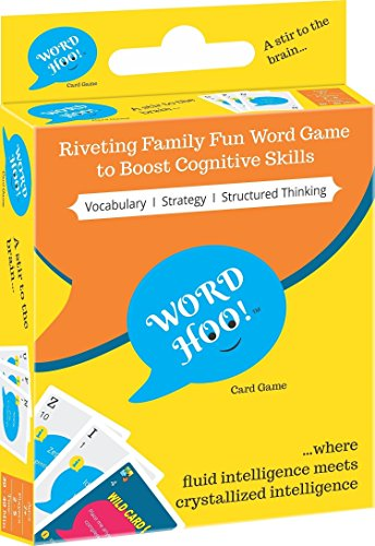 WordHoo Educational Game for Boys and Girls: Brain Games for Kids (7 Years Up)
