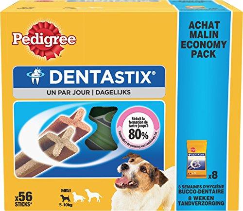 Pedigree Dentastix - Friandises pour petit chien - 56 sticks hygiène bucco-dentaire 1