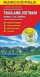 Marco Polo Thailand, Vietnam, Laos, Cambodia (Marco Polo Maps)