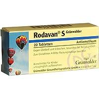 RODAVAN S Grünwalder Tabletten 20 St preisvergleich bei billige-tabletten.eu