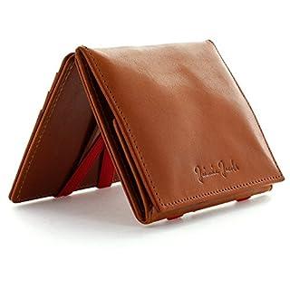 7709bc774421e JAIMIE JACOBS Flap Boy - Das Original - Magic Wallet mit Münzfach Magischer  Geldbeutel mit RFID